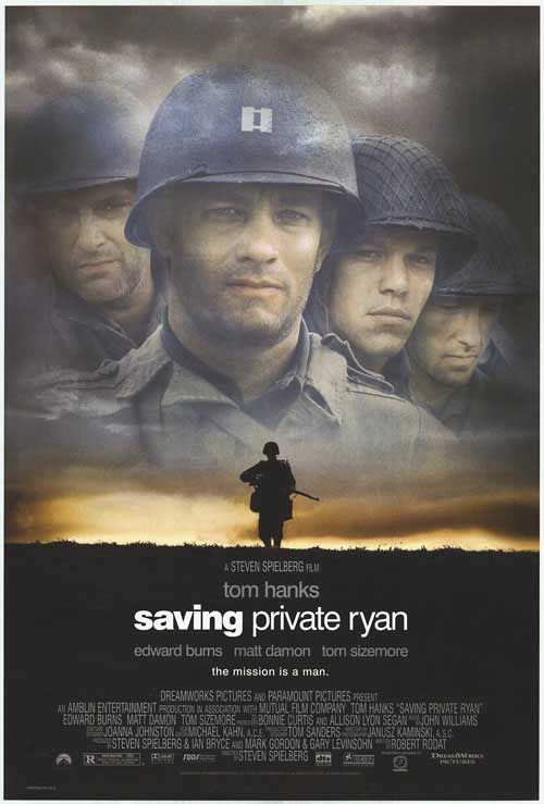 Saving Private Ryan... I still struggle with the beginning of the movie but this is an amazing film.