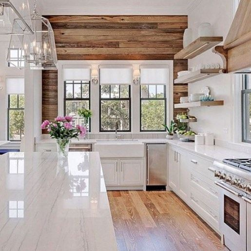 "Just looking through the @scoutandnimble blog and saw that our kitchen was named one of the ""Most-Loved Instagram photos of 2015"" !!!! Thanks for following along with us!!! #interiordesign #kitchen #oldseagrovehomes"