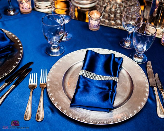 Chair Covers For Weddings Pinterest Antique Childs 12 Best Royal Blue And Silver: Killington Reception Inspiration Images On   ...