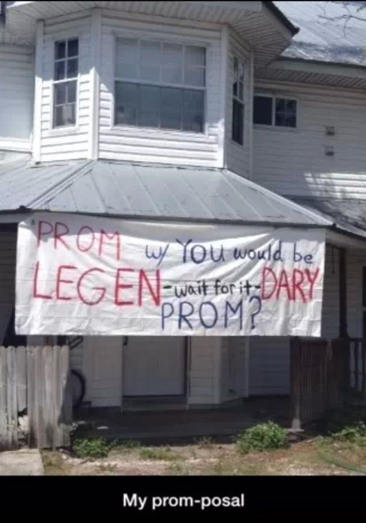 Yes yes yes yes! This is my promposal! This needs to happen I love how I met your mother!!