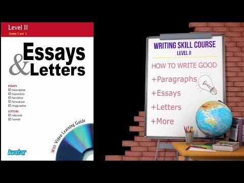 How to Write a Good Essay with Thesis Statement - Essay Writing Skill - Level 4 - YouTube
