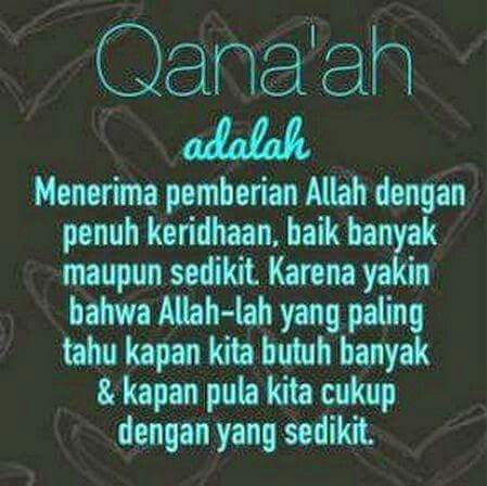 Qana'ah