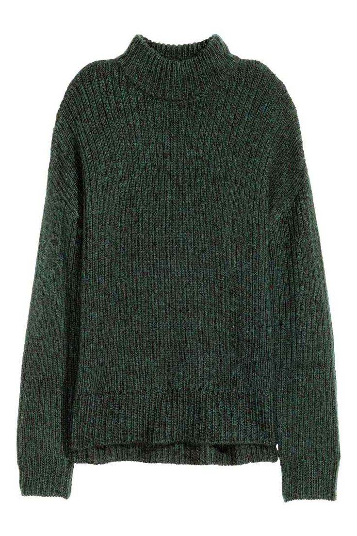 Chunky-knit turtleneck jumper 19,99 €| H&M