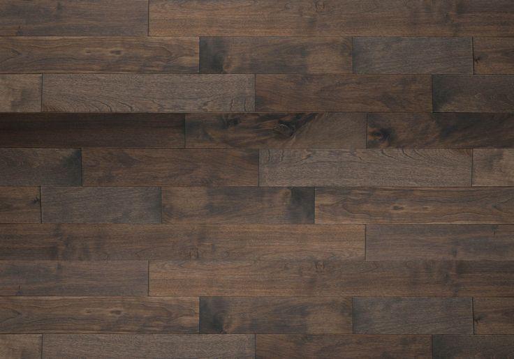 Découvrez les planchers de bois franc Lauzon avec notre Gris fumé. Ce magnifique plancher de Merisier de notre collection Essential saura rehausser votre décor grâce à ces riches teintes grises, ainsi qu'à sa texture lisse et son aspect classique. Nos planchers de merisier Certifiés-FSC® sont disponibles sur demande.