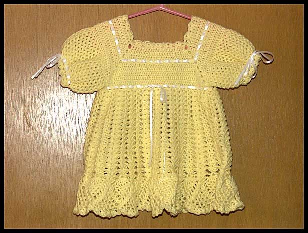 """Banana Split Dress"" size 12-18 mos, $40"