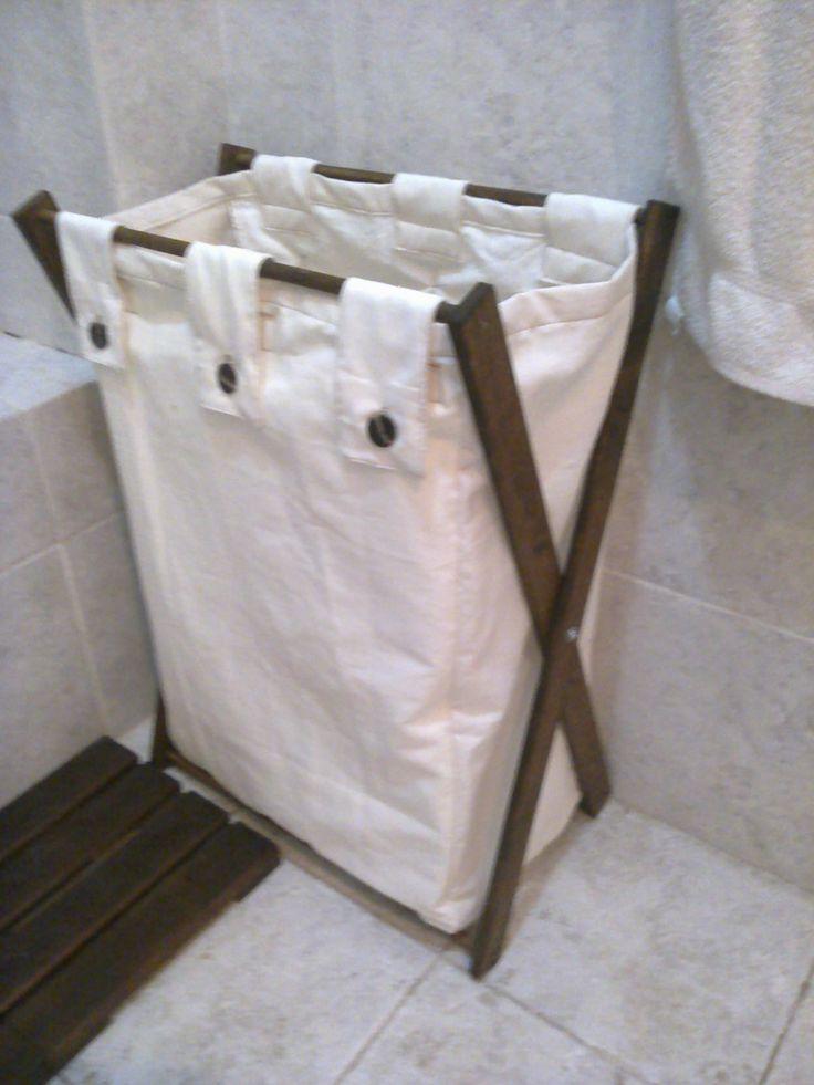 Bolsa para ropa sucia ideas para el hogar pinterest - Cestos para ropa sucia ...