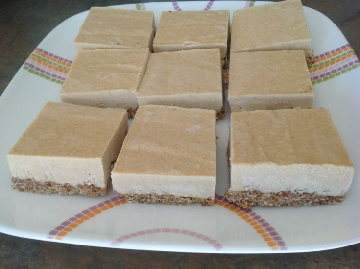 nutritarian lemon bars...raw and vegan...no refined sugar either and can be gluten free