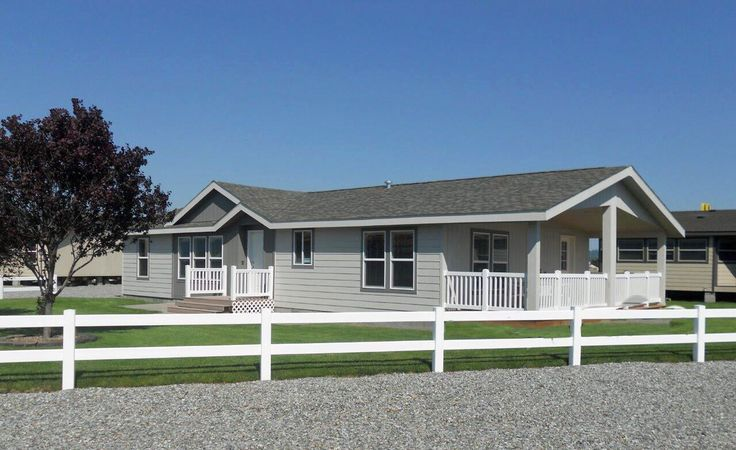 Front Porches Manufactured Homes With Double Eaves
