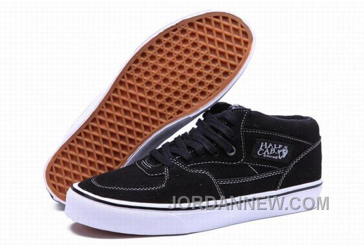 http://www.jordannew.com/vans-half-cab-black-white-mens-shoes-discount.html VANS HALF CAB BLACK WHITE MENS SHOES DISCOUNT Only $74.87 , Free Shipping!