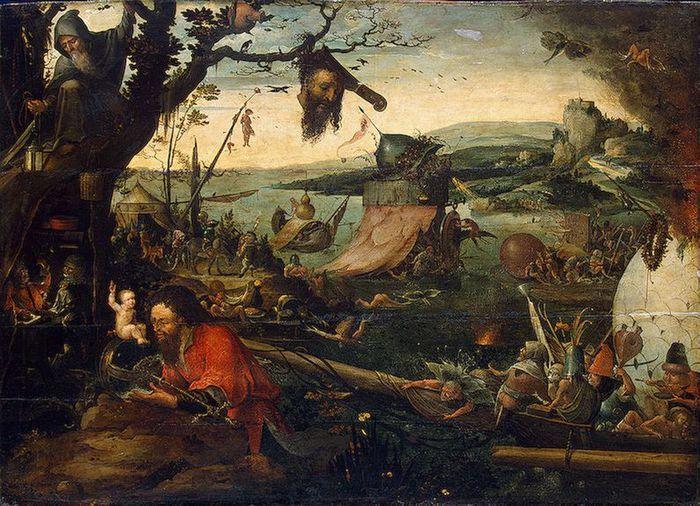 Мандейн Ян (1502-1560) — Святой Христофор. (Государственный Эрмитаж, С.-Петербург)