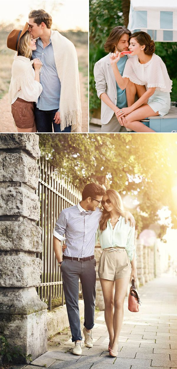 What to Wear for Your Engagement Shoot 30 Stylish Outfit Ideas for Engagement Photos You'll Love - Chic Shorts