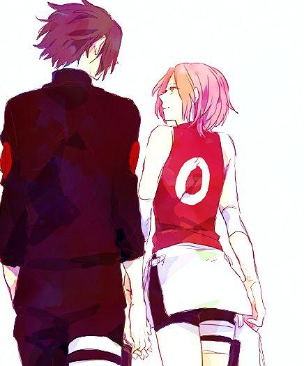 sasusaku, tal ves una de las parejas mas me gusta del anime!