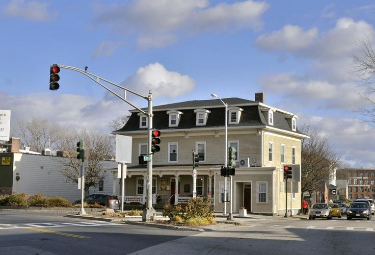 The Hotel Stafford is now Jeremiah's Inn, a hospice for homeless men, and though for some stretches of its existence it was not a hotel, most of