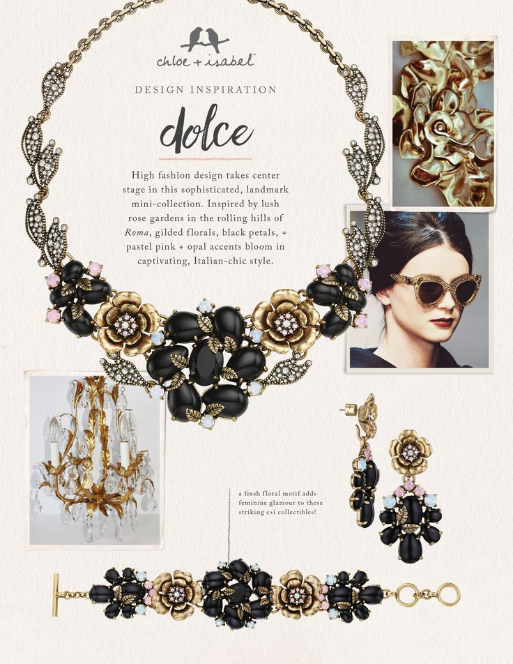 Discover the inspiration behind our Dolce mini-collection!
