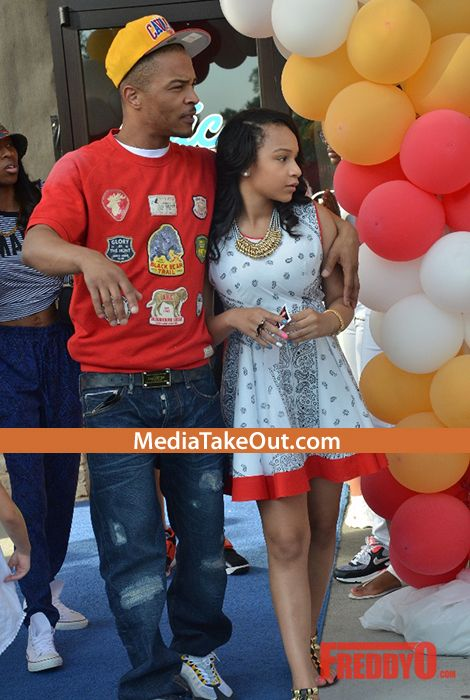 PROUD FATHER!! Yesterday Rapper TI Threw A 13th Birthday Party . . . For His DAUGHTER . . . And She's Grown Into A VERY PRETTY YOUNG LADY!!