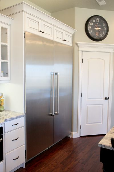 Thermador Fridge from Our Best Bites 5' x 7'! A must (but with panels). Immediately in love with this :)