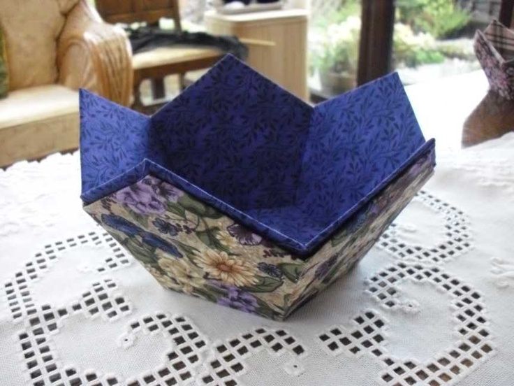 17 Best Images About Pentagon Fabric Bowls And Balls On