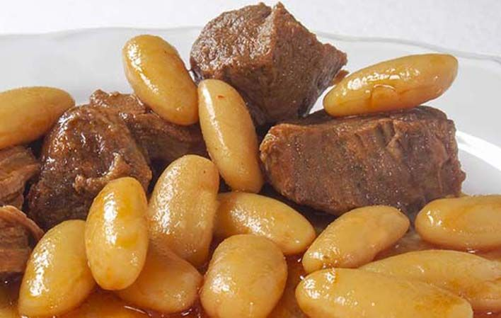 Fabes con Jabalí (por La Casona de Mestas) #receta #recipe #Gastronomía #Gastronomy #Asturias #ParaísoNatural #NaturalParadise #Spain