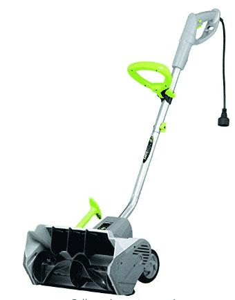Earthwise SN70014 14-Inch 12-Amp Electric Power Snow Shovel - Electric Snow Shovel with Wheels