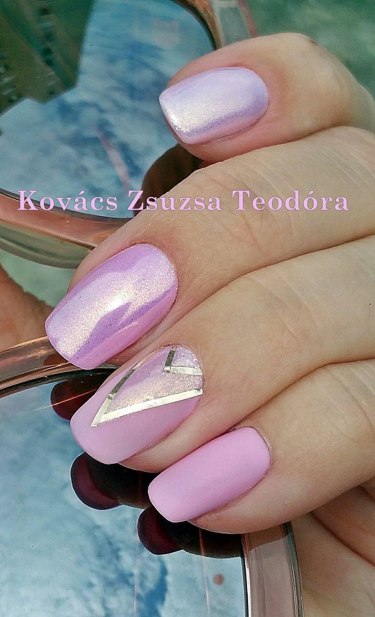 #nails #pinknails #summer  #mattenails