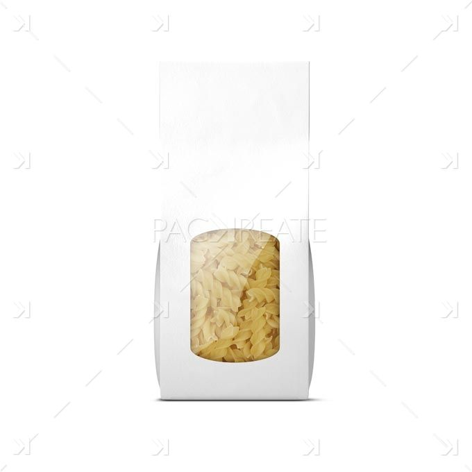 pastabag-white Packaging Mockup Blank