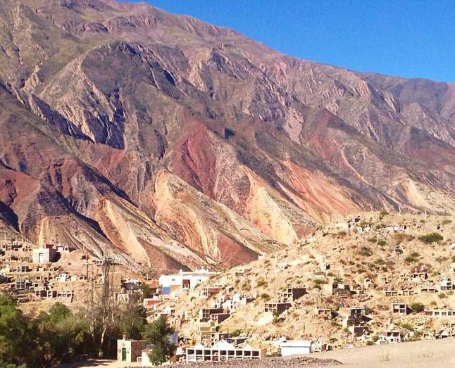 Quebrada de Humahuaca, Jujuy. Más sobre el #NorteArgentino en https://www.facebook.com/viajaportupais