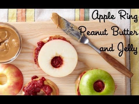 How to Make Gluten-Free Apple Ring PB&J