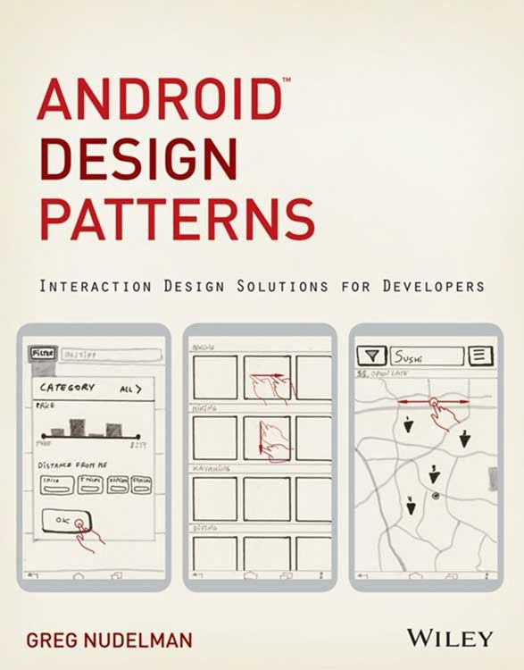 [International Giveaway] Win One Of Ten Android Design Patterns Books From Wiley And Android Police