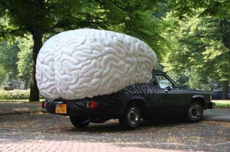 """Saatchi Art Artist Olaf Mooij; , """"braincar"""" #art"""