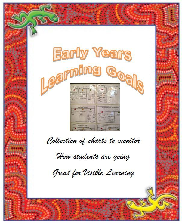 Early Years Learning Goals - Cover