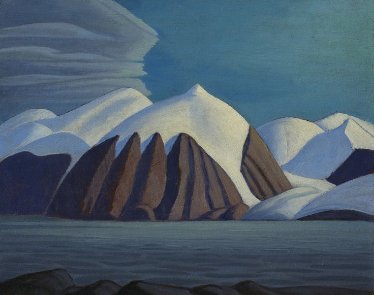 North Shore, Baffin Island by Lawren S. Harris