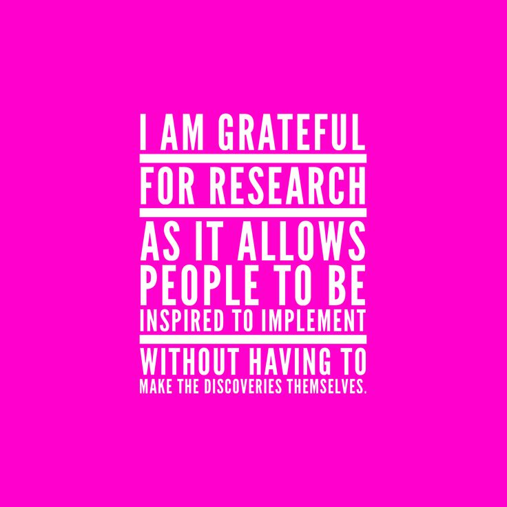 I love exploring the results of any research that allows me to implement a new innovation. Ultimately if I am not finding a solution to a problem I am not happy.