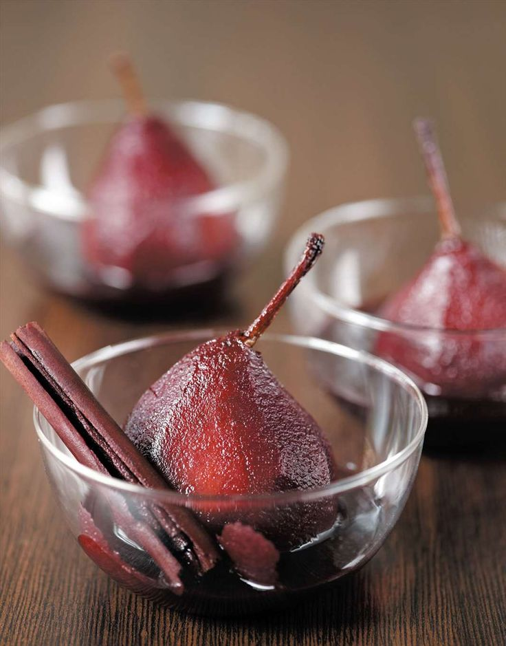 Pears in red wine by Margaret Fulton from Margaret Fulton Favourites | Cooked