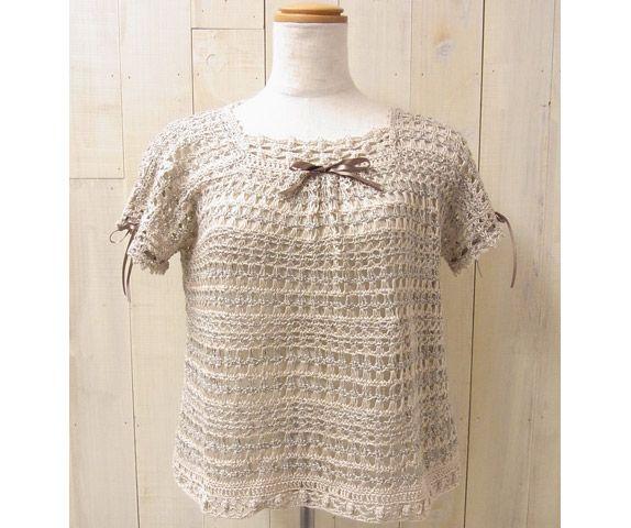ダブルフックアフガン針で編む セーター | 手づくりレシピ | クロバー株式会社