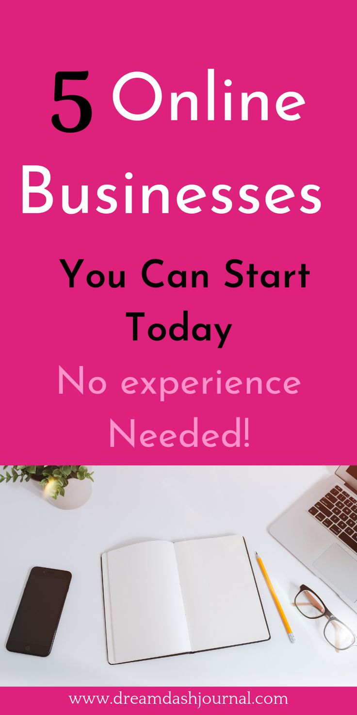 5 Home Business Ideas Online With No Experience Needed