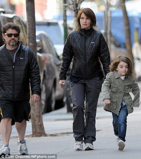 tina fey's daughter alice does have serious swag.