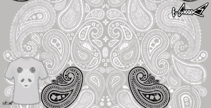 T-shirts - Design: Paisley Panda - by: Anthony Aves