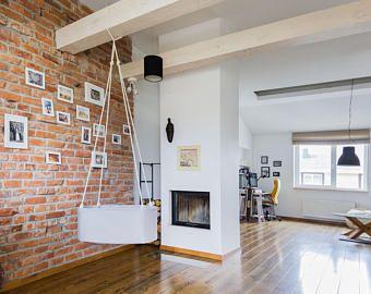 Urban Indoor / Outdoor Hanging Cradle Hanging Bassinet