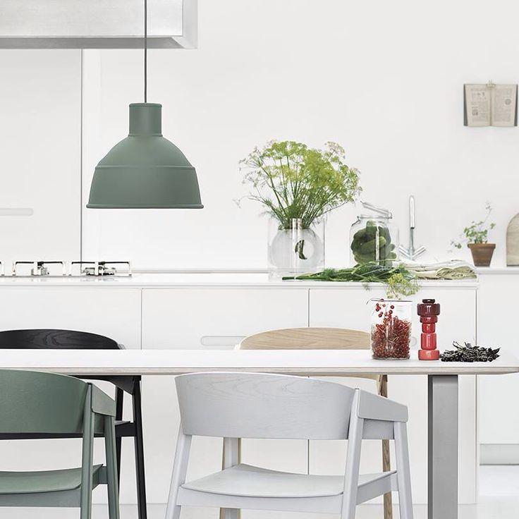 Olijfgroen in keuken