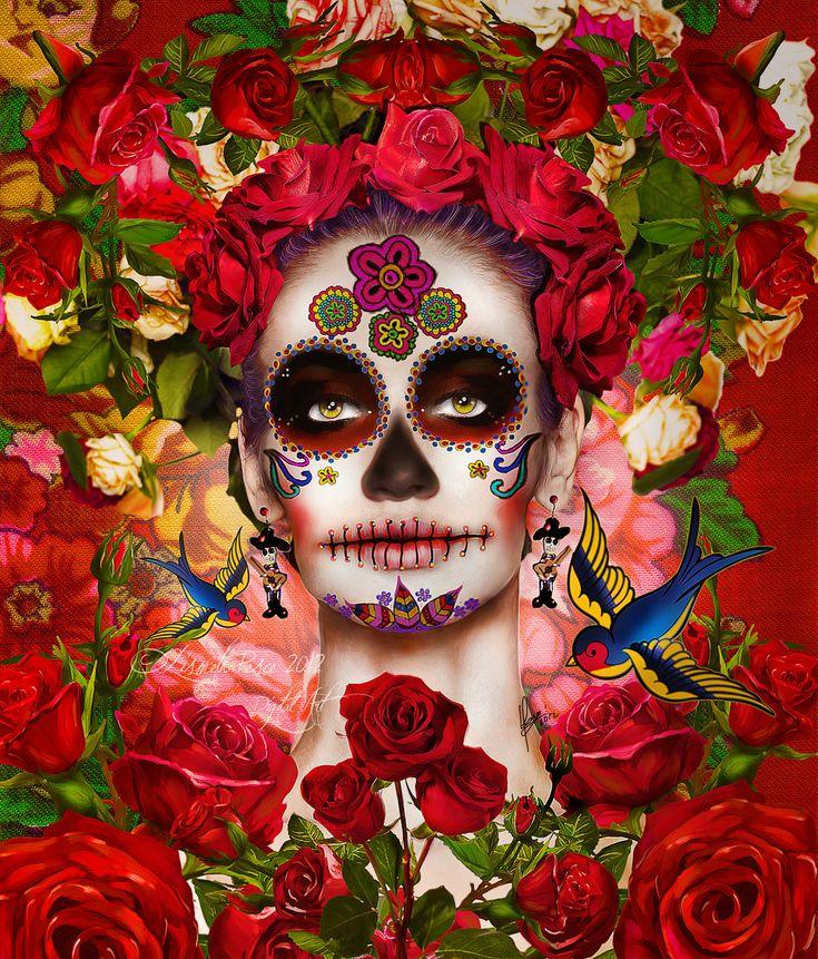La Catrina by Capricuario.deviantart.com: