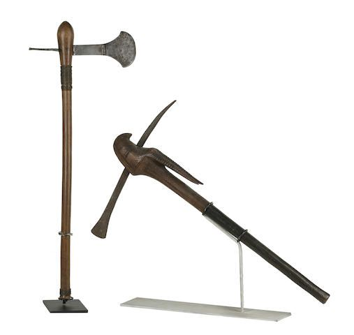 Two Wood and Metal Axes, South Africa