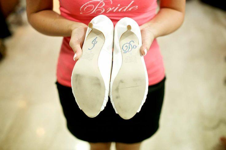 Say it on the shoes like Jo did...Faraway Beach weddings Thailand