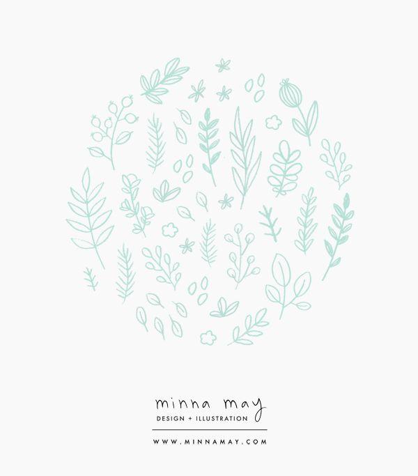 illustrations - minna may design + illustration