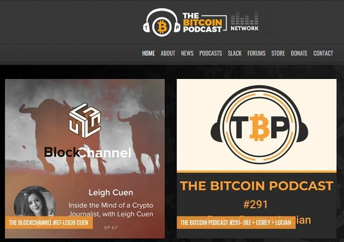 best podcassts on cryptocurrency