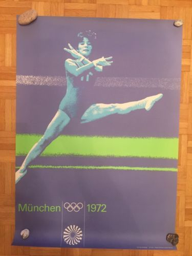 Plakat-Olympia-Muenchen-1972-Poster-olympische-Spiele-Turnen-07-70-09