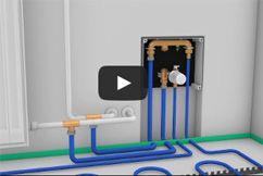 Montagevideo FLEXIRO 10 Fußbodenheizung zum Nachrüsten als Bausatz