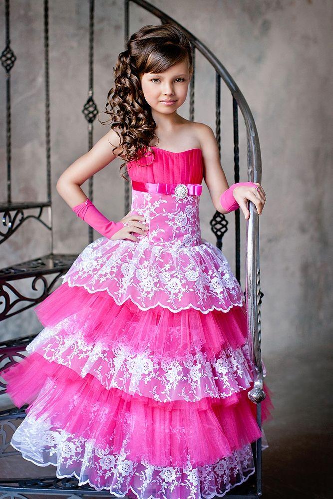 ec1d2d7c17f8 Красивые детские вечерние платья (46 фото) для девочек | детские ...