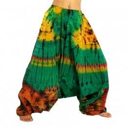 Pantalon sarouel pantalon bouffant Batik