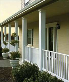Exterior column covers at home find comfort and rest for Where to buy columns for house