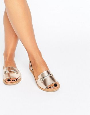 Zapatos de verano de cuero JASMINA de ASOS